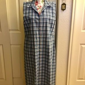 ♥︎ Button-up Cotton Summer Ankle-Length Dress